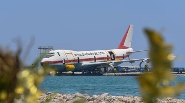 图片 波音747飞机特色水下主题公园将于8月开放