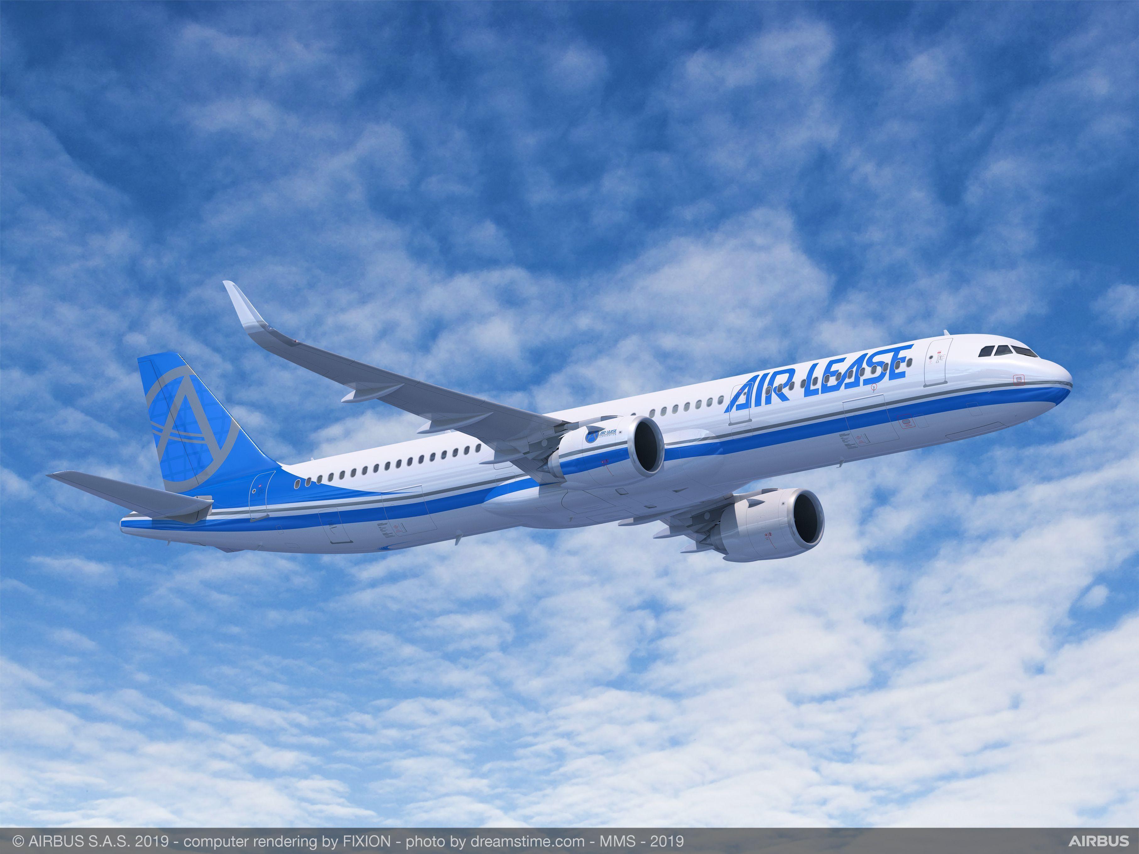 ALC空客A321neo飞机 图片来源:空客