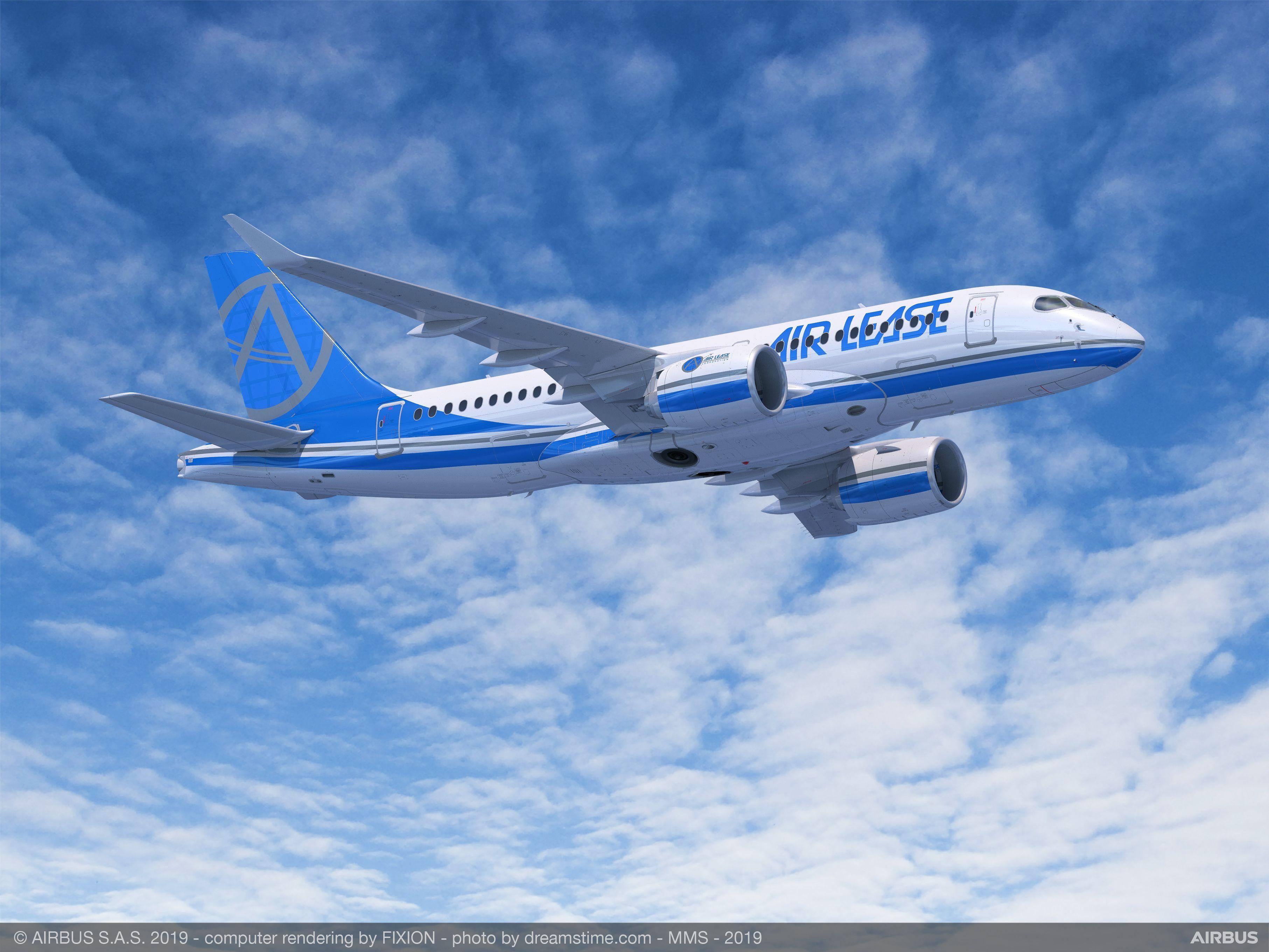 ALC空客A220-300飞机 图片来源:空客