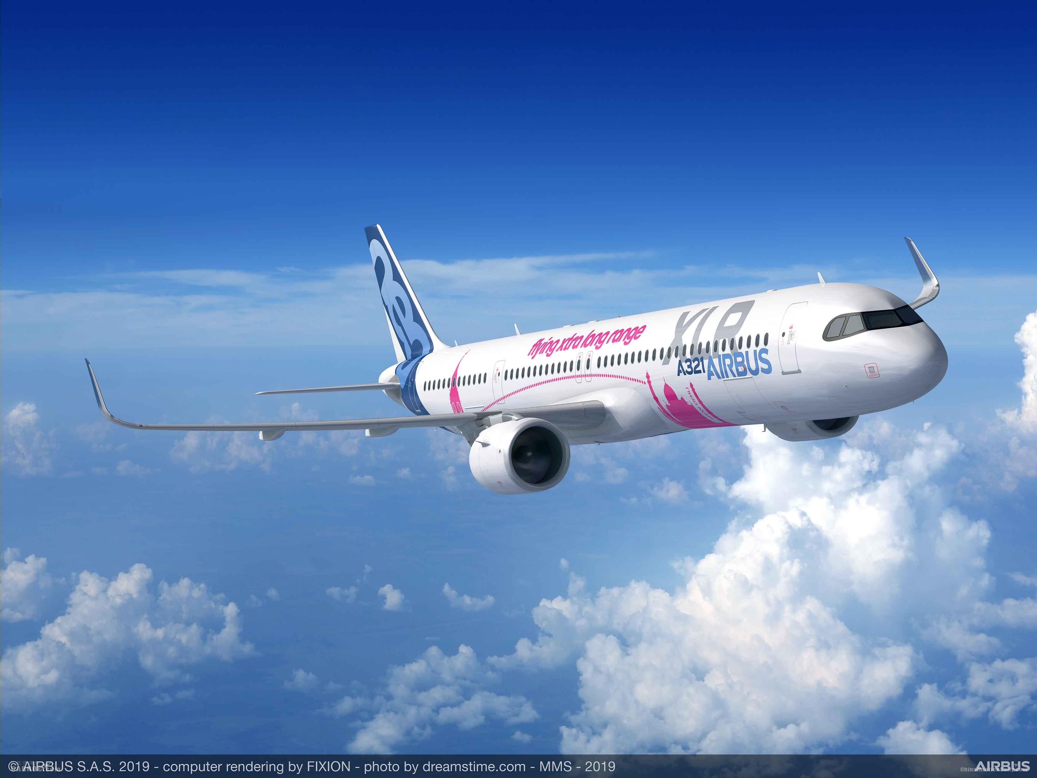 多家航司以全新A321XLR订单支持空客公司