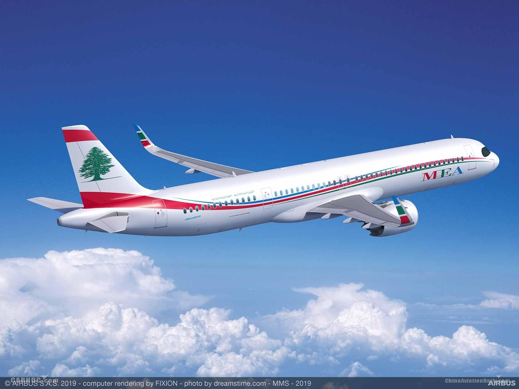 中东航空订购4架空客超远程型A321XLR飞机