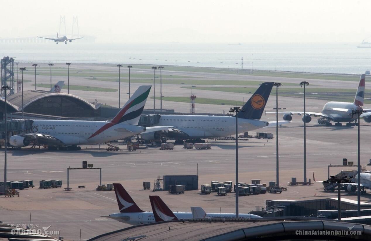 香港机场5月客运量及起降量增长 月底增15个高速WiFi区