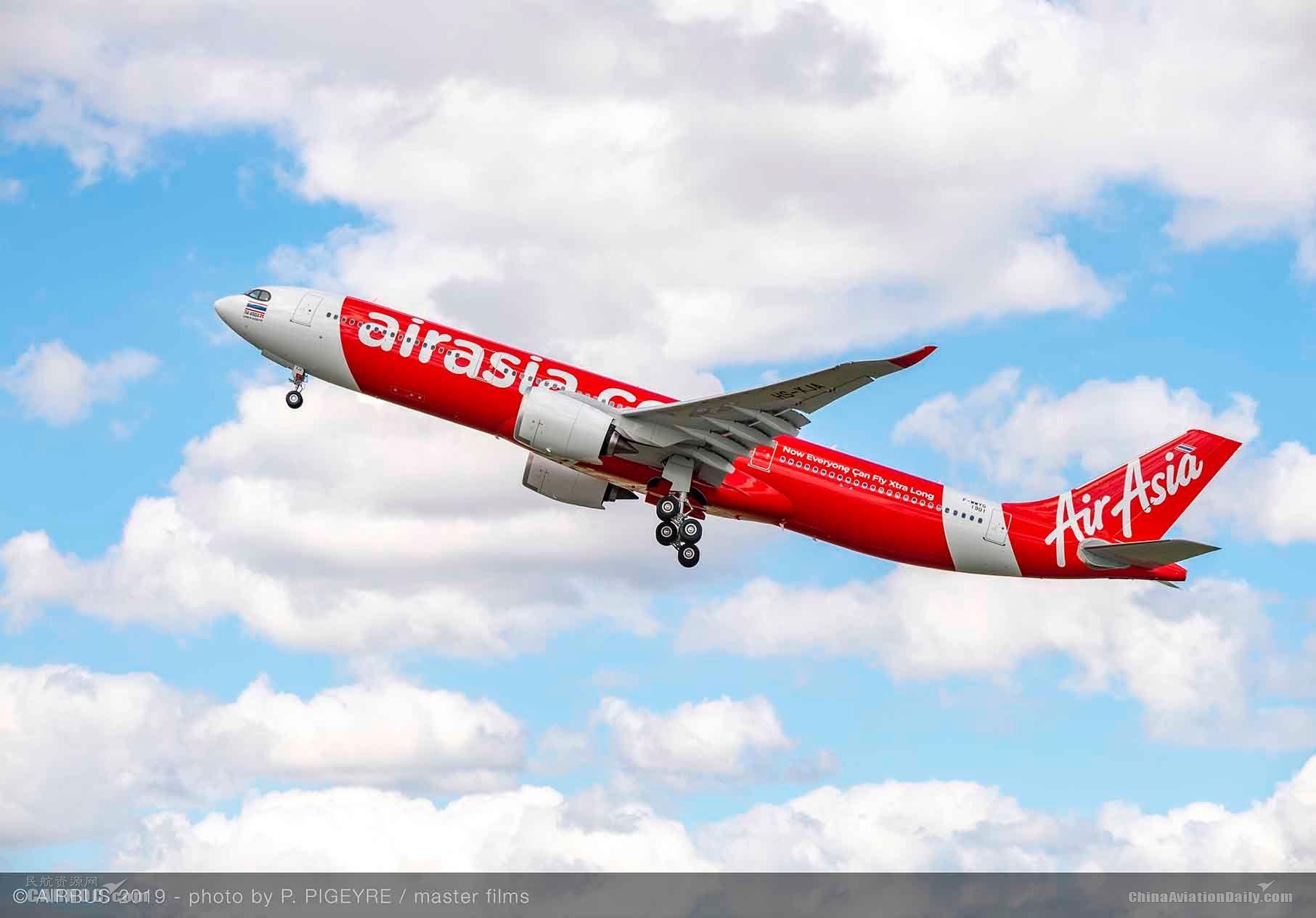 訂購66架A330neo 亞航寄望開通更多新目的地