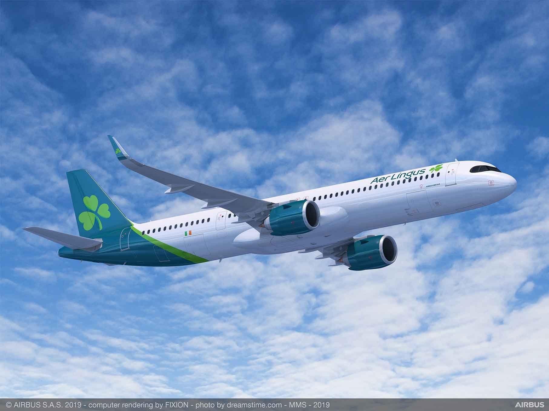 国际航空集团订购14架超远程型A321XLR飞机