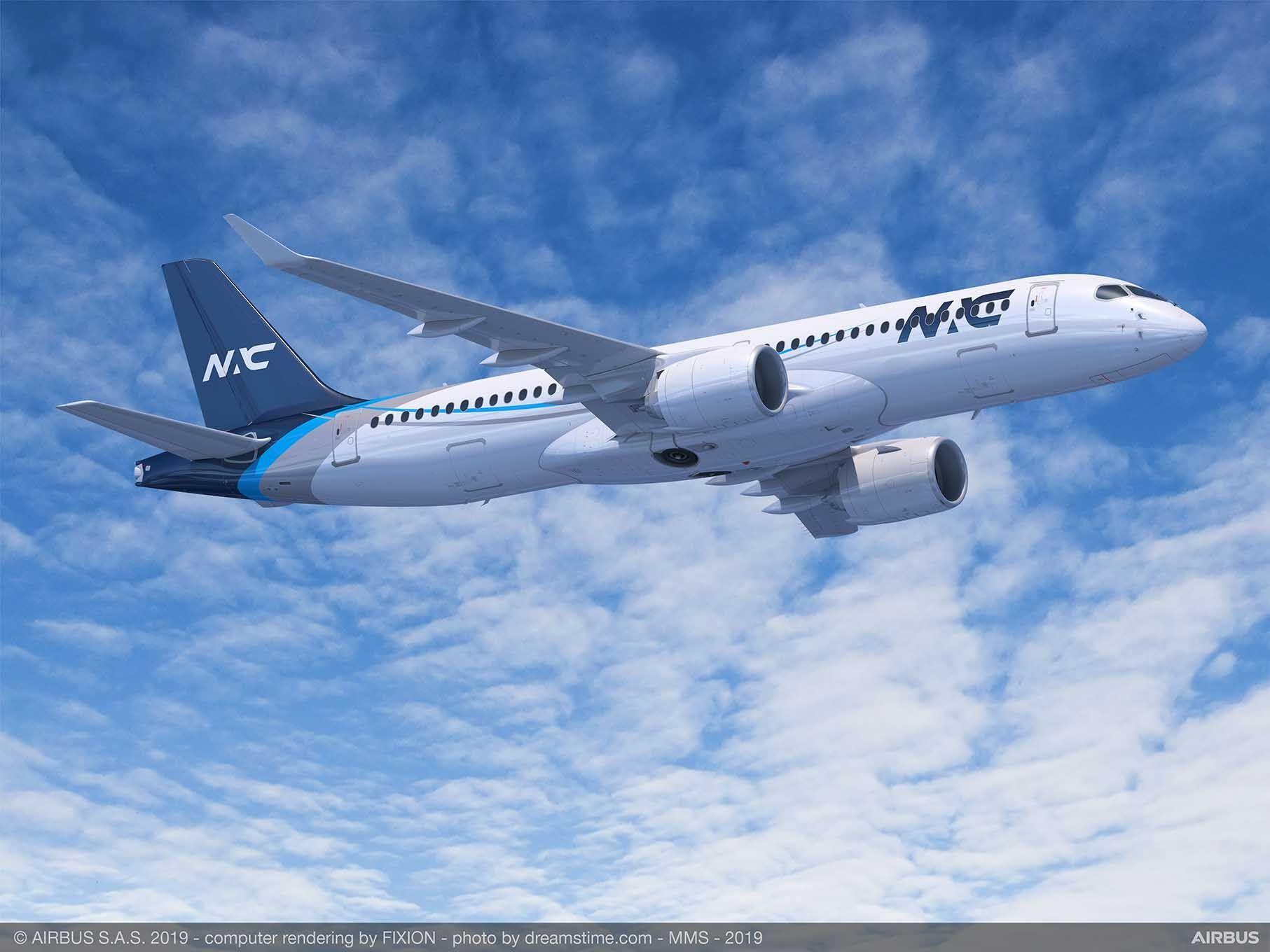 北欧航空资本宣布订购20架空客A220系列飞机