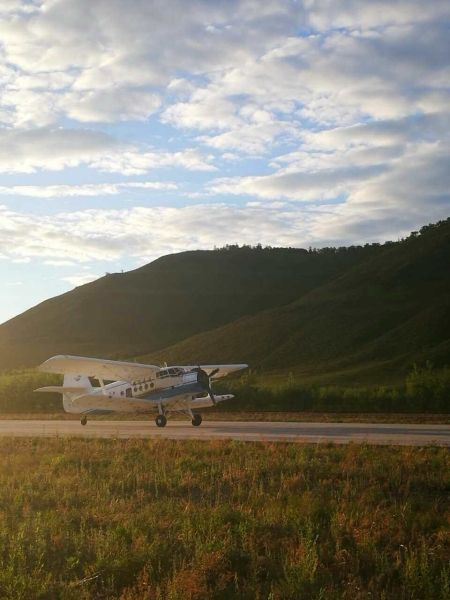 阿尔山机场完成防治病虫害通航飞行保障任务