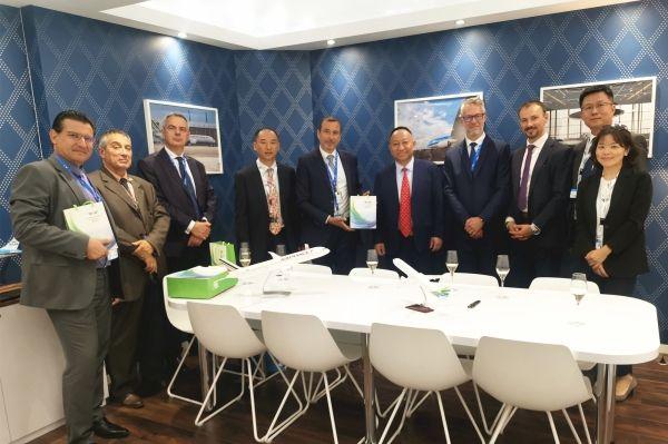 澜湄航空集团与法荷工程维修公司达成战略合作