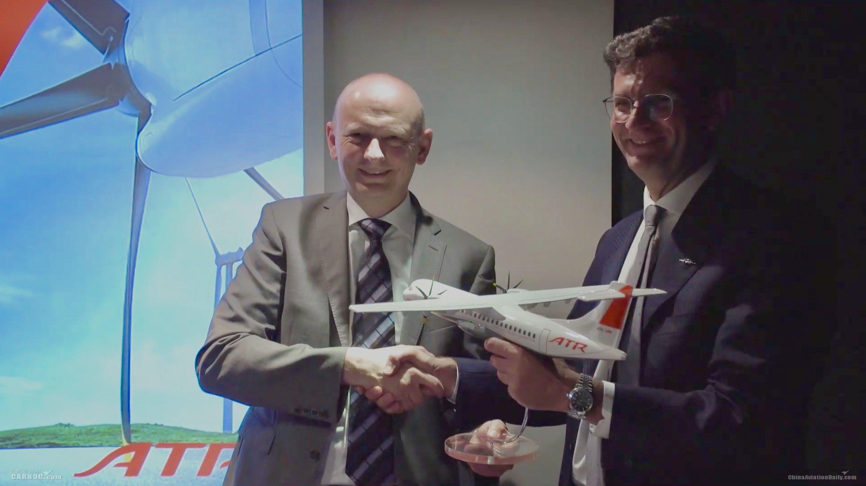 ATR于巴黎航展期间宣布75架新订单,总价值17亿美元