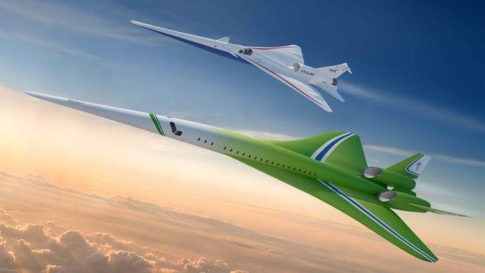 """洛克希德马丁公布""""静音""""超音速客机设计方案"""