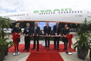 图集|长荣航空接收其首架787-10梦想飞机
