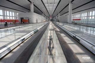 大兴国际机场内部装饰 来源:环球网