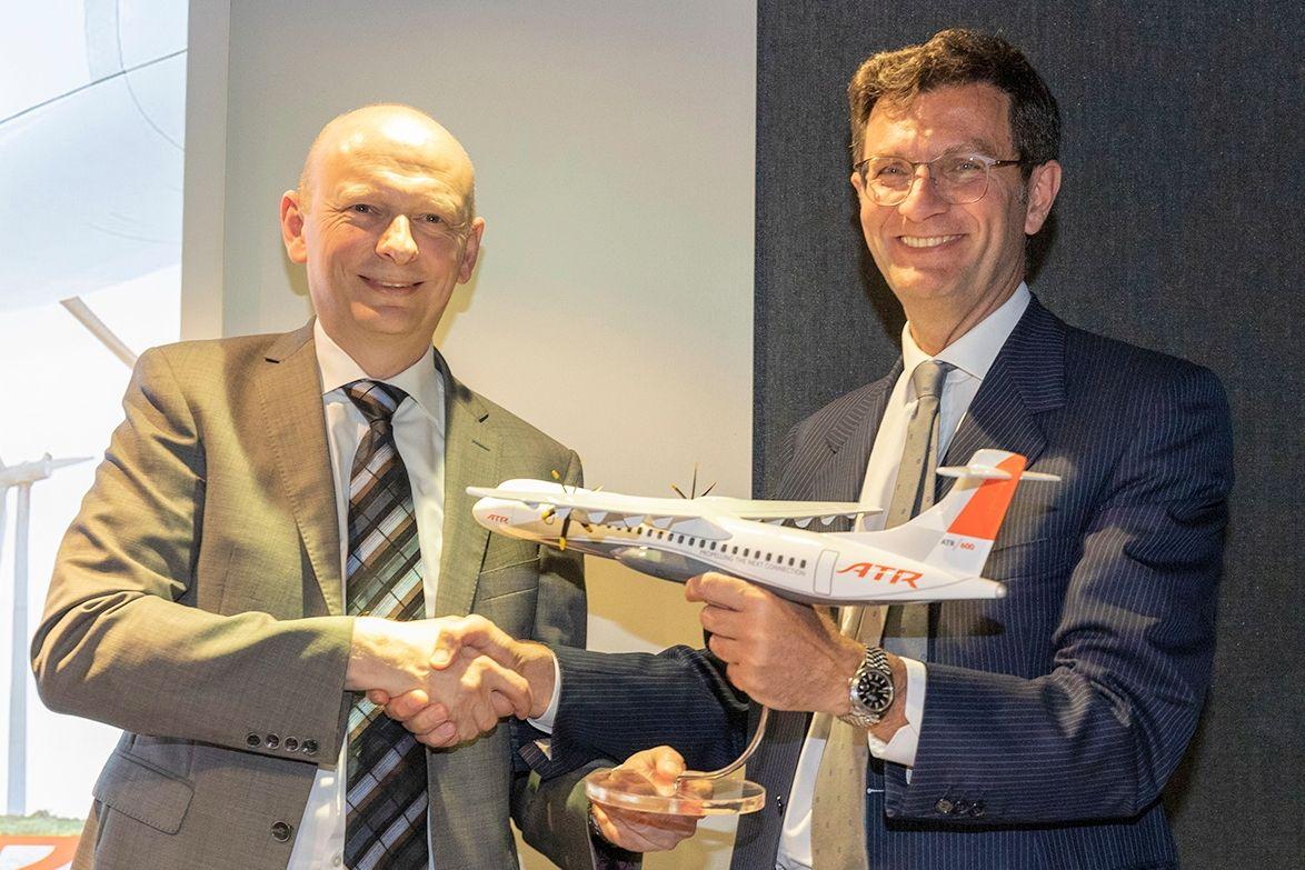 ATR与NAC签署包含100余架飞机订单意向书