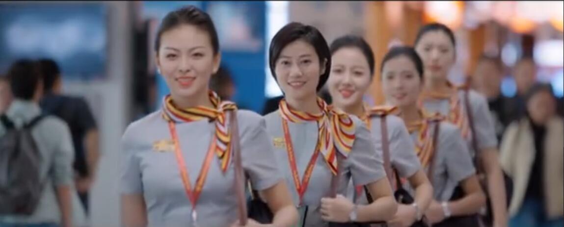 福州航空推出首部乘务形象宣传片《门》