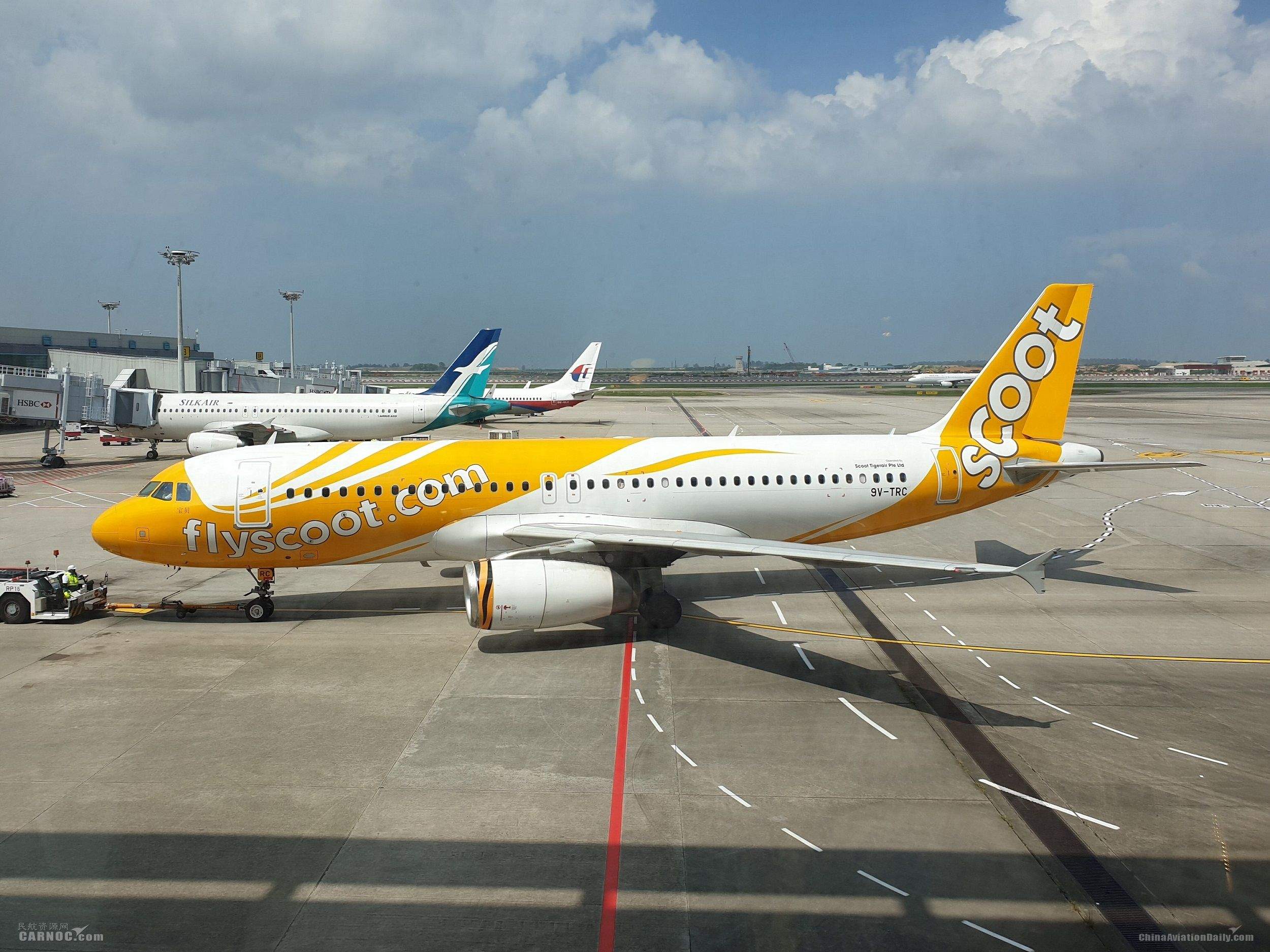 酷航开通昆明-新加坡直飞航线
