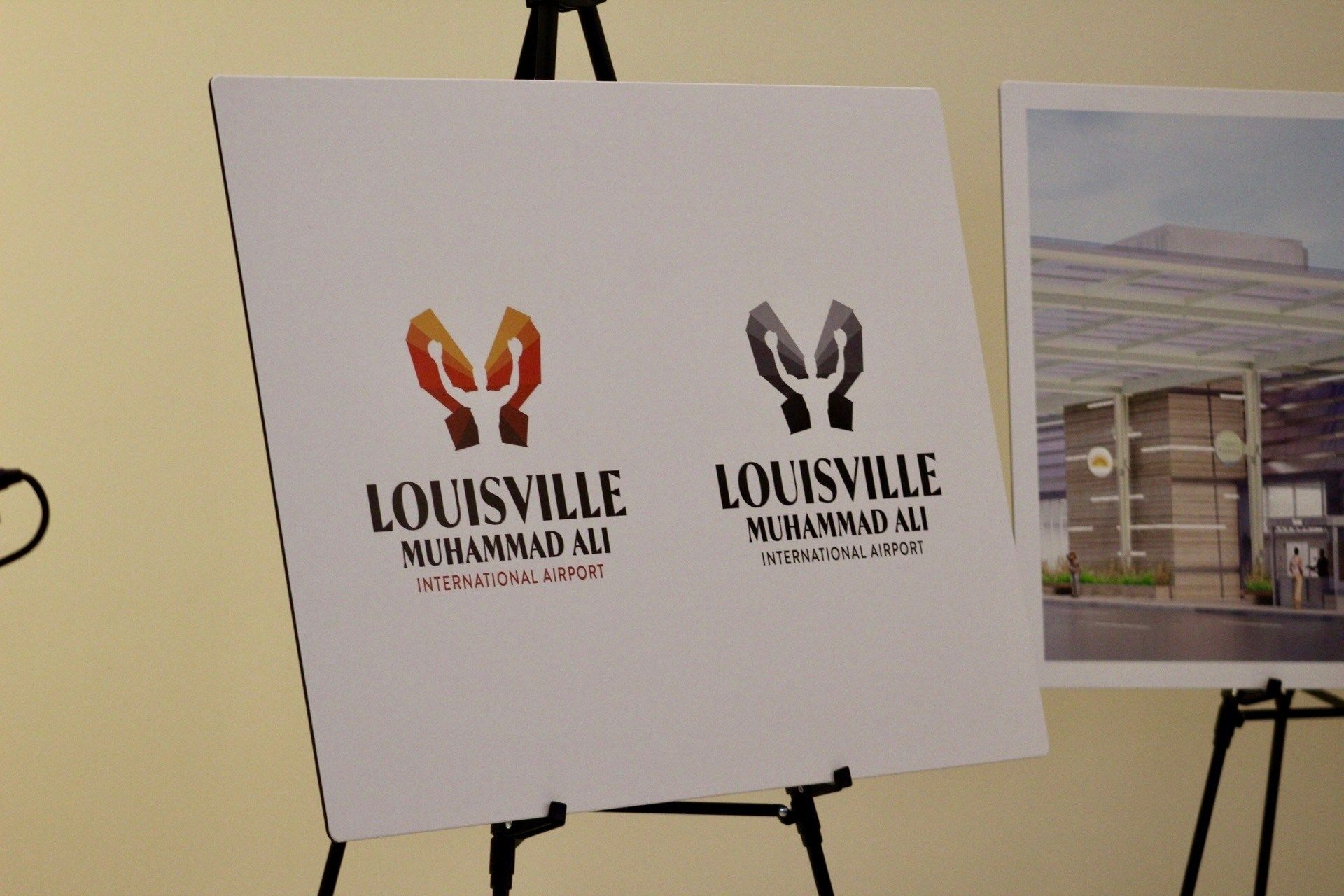 路易斯维尔穆罕默德·阿里国际机场新logo