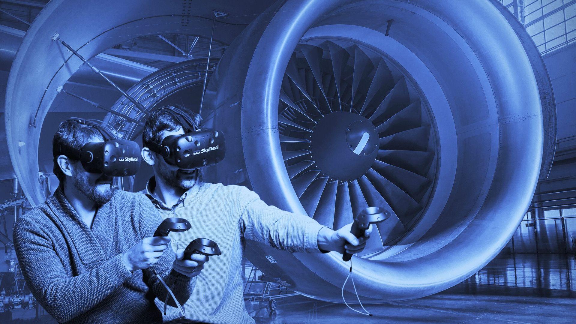 SKYREAL公司的VR解决方案可以模拟和测试原型机并可将工作场景保存并与他人分享(图片来自于官网)