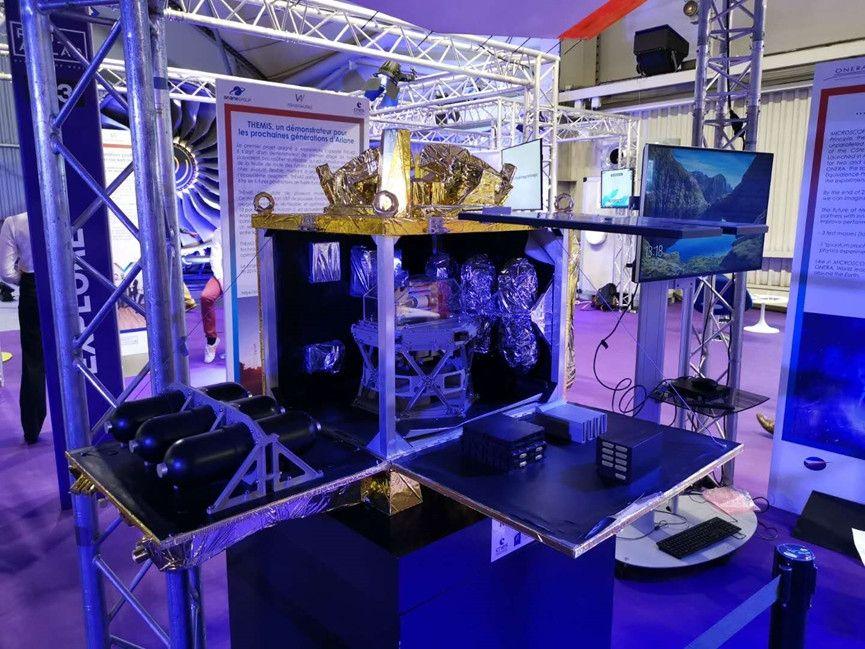 Ariane集团也提供了一个和法国国家太空研究中心CNES合作的特别项目展示