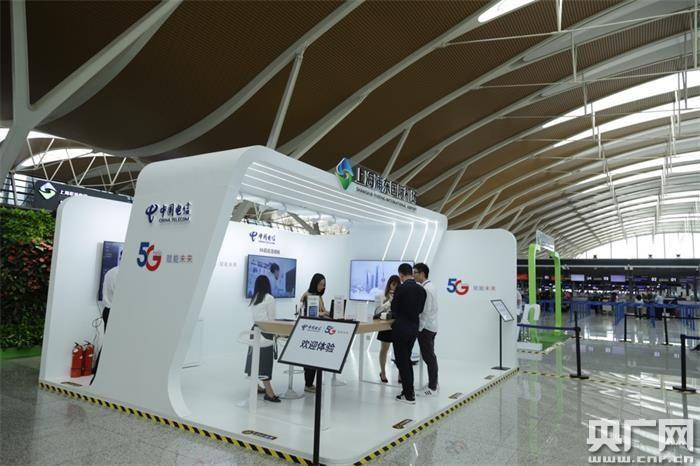 打造智慧机场 浦东机场开通5G体验馆
