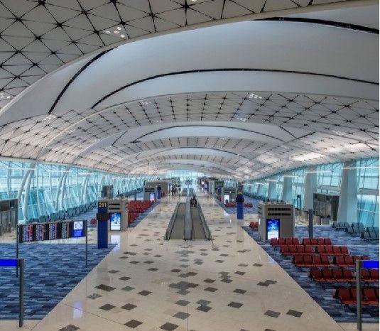 香港国际机场中场卫星厅