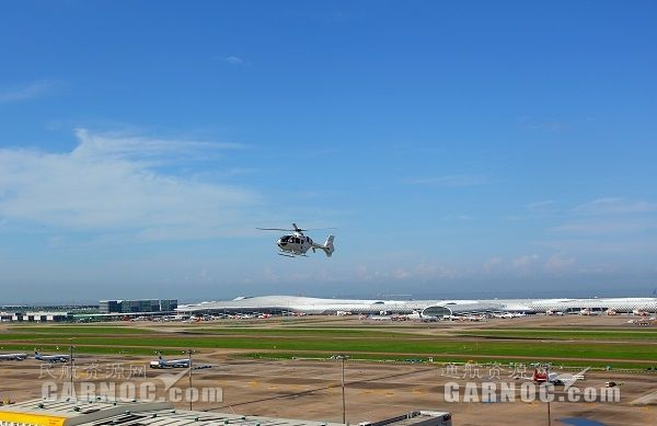 粤港跨境直升机首航!内地可乘坐直升机到香港