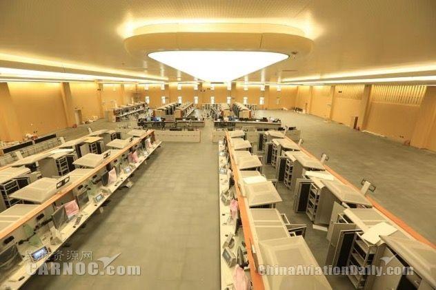 最大终端管制中心竣工 将日均指挥2900架次航班