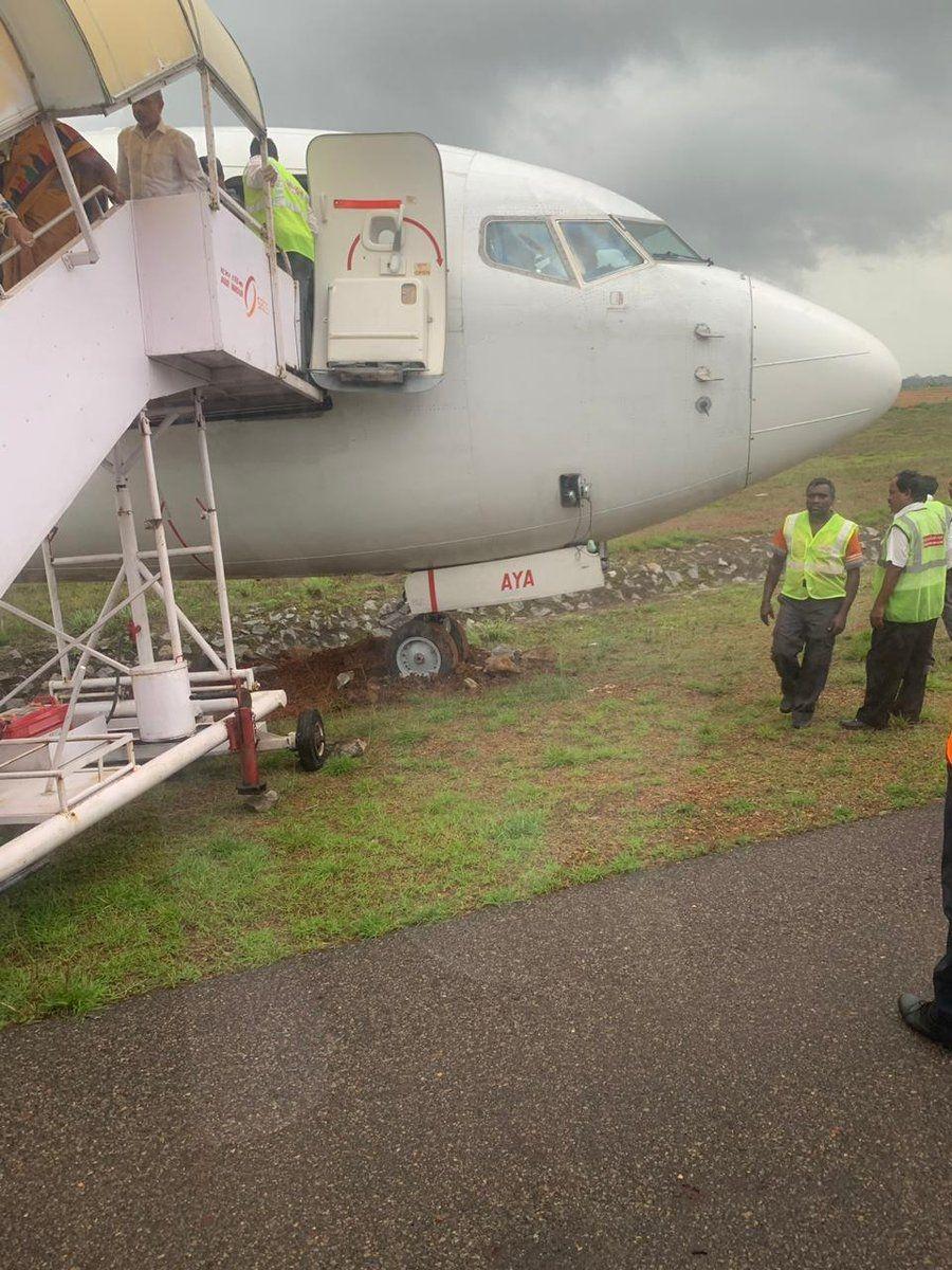 印度快运航空一客机冲出跑道 机上183名乘客成功脱困