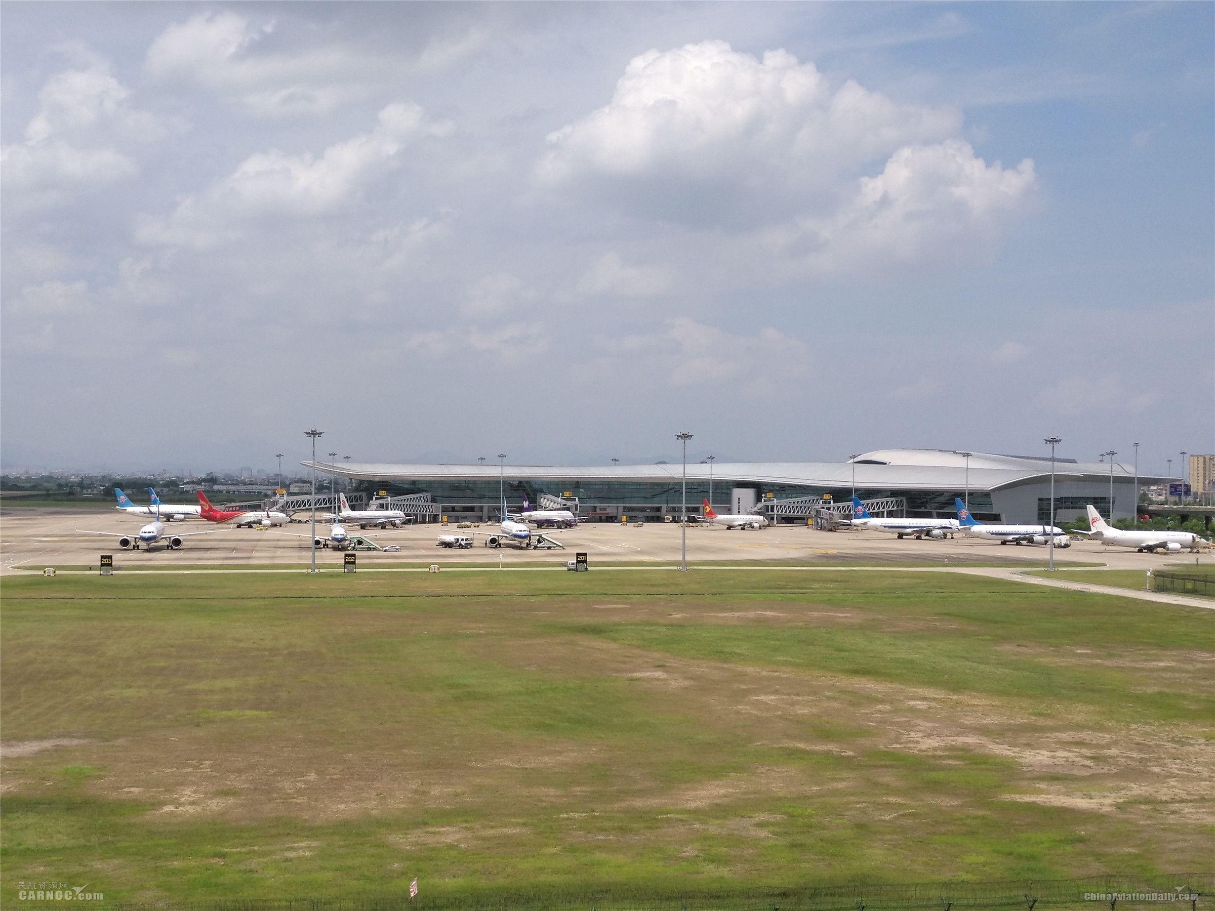 潮汕机场生产场景        机场供图