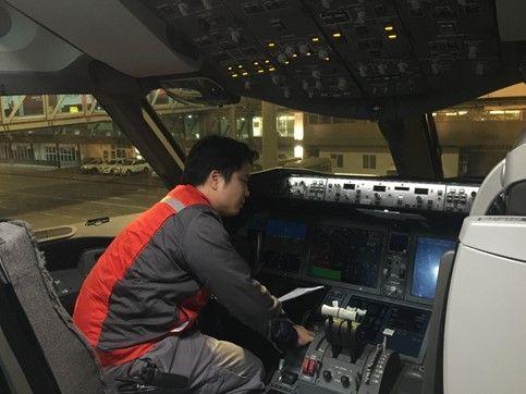 海航技术机务党员赖伟冬:身体力行做表率