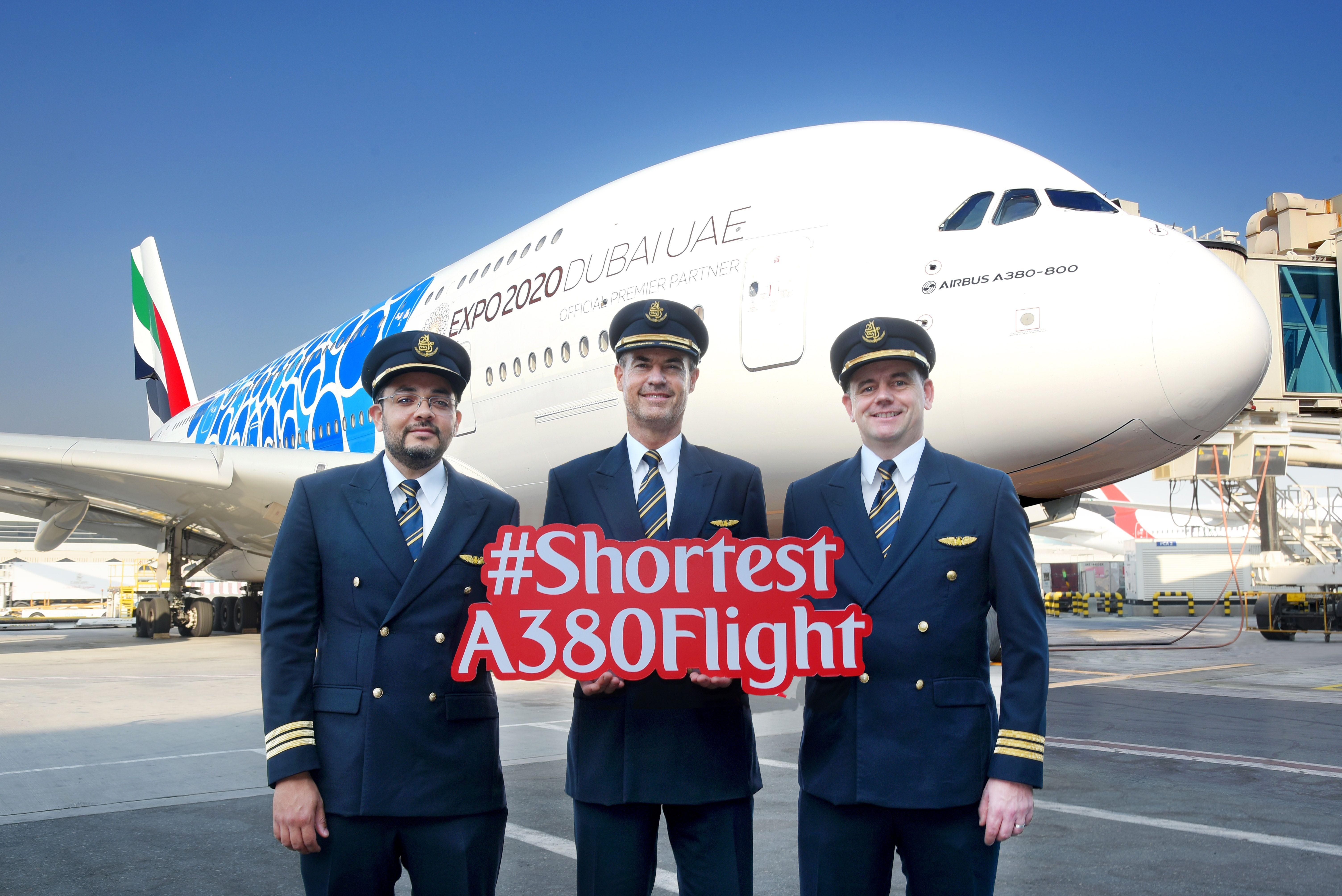 阿联酋航空开通全球最短A380航线——从迪拜至马斯喀特