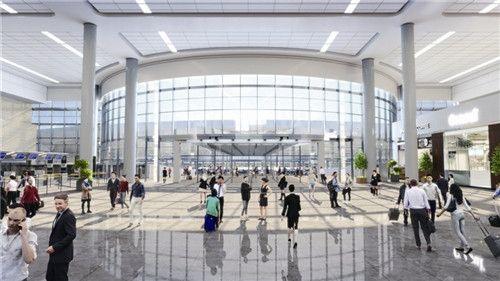 """温州机场综合交通中心开工 许你一串""""爽体验"""""""