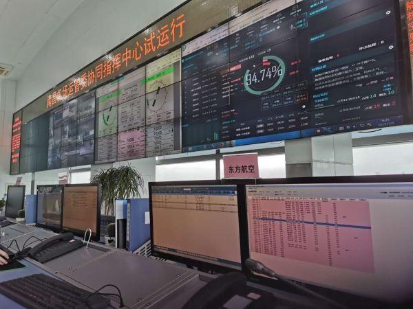 东航江西运控部进驻南昌机场一体化指挥平台