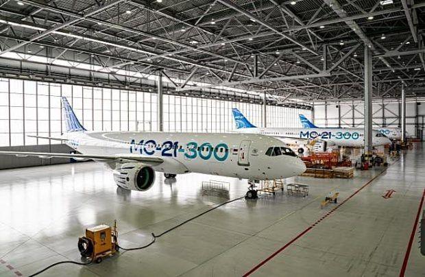 俄罗斯飞机制造商为MC-21客机订购了40台美国普惠发动机