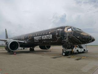 """巴航工业""""工程狮""""E195-E2首度抵华 开启全球巡演之旅"""
