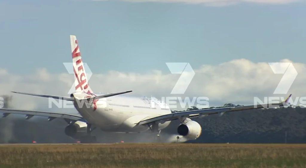 维珍航空飞香港班机因引擎漏油返航墨尔本