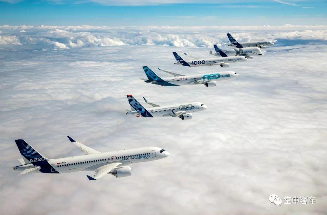 民航早报:7月空客交付69架飞机