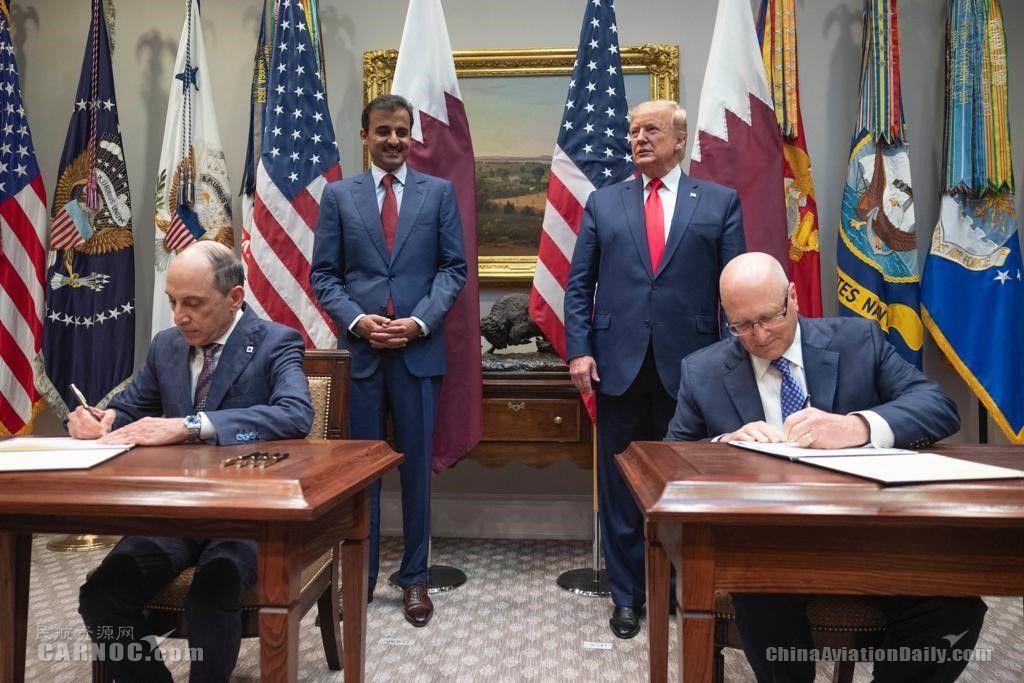 卡塔尔航空与GE航空集团签署突破性新协议