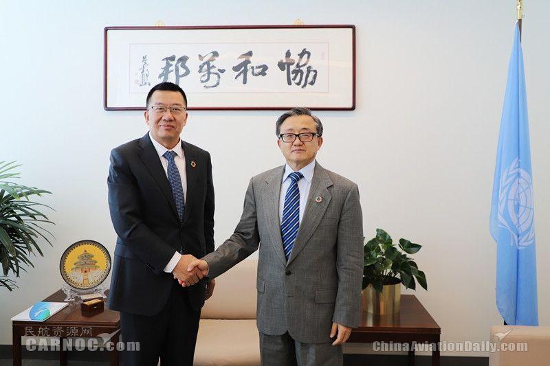 厦航董事长赵东应邀与联合国副秘书长刘振民座谈