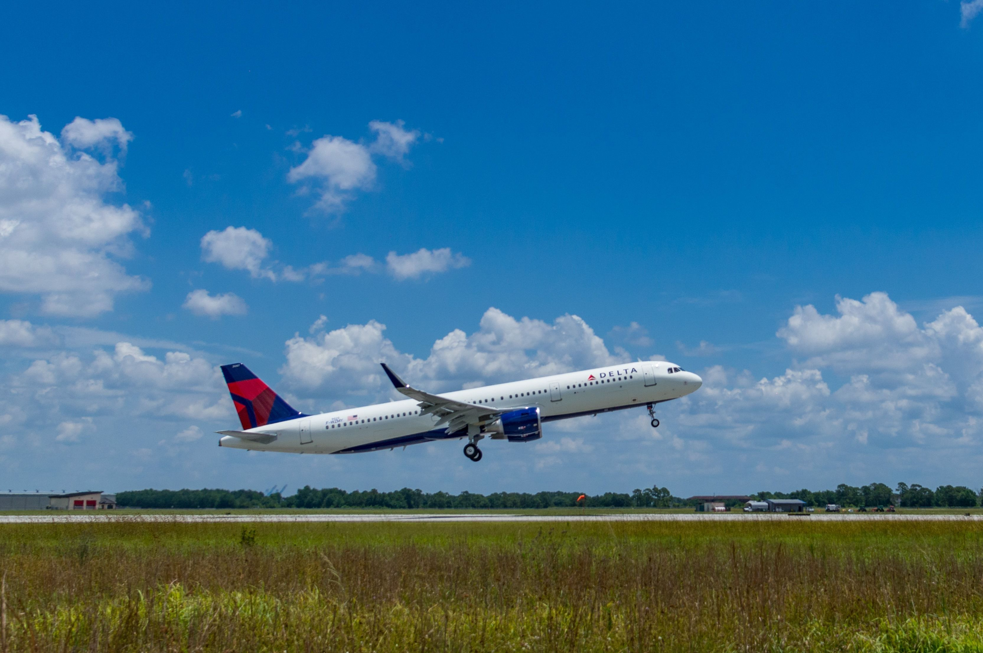 达美航空接收第50架美国制造A320系列飞机