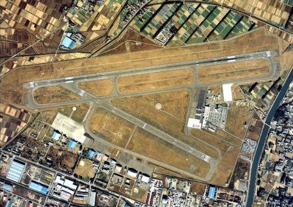 上图是平常的仙台机场