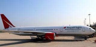 俄罗斯皇家航空767-300客机        摄影:范文泽