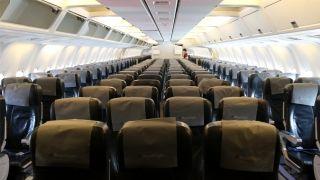 皇家航空767-300客舱          摄影:范文泽