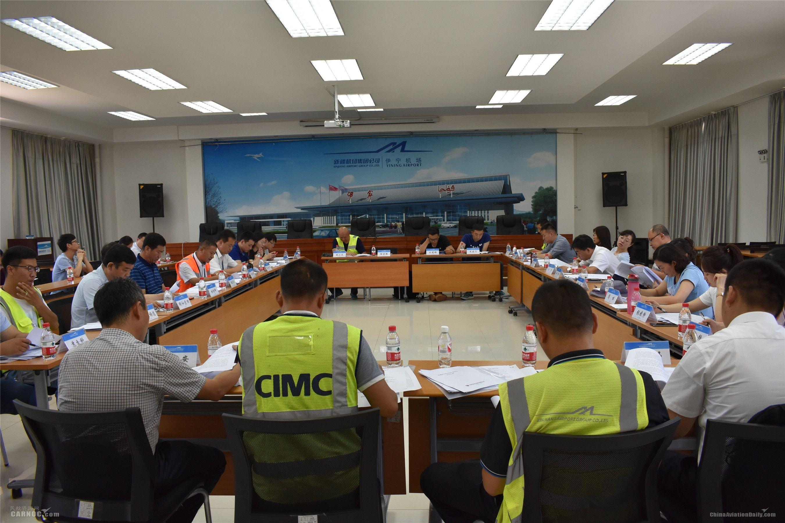 伊宁机场通过桥载安装及改扩建飞行区工程验收