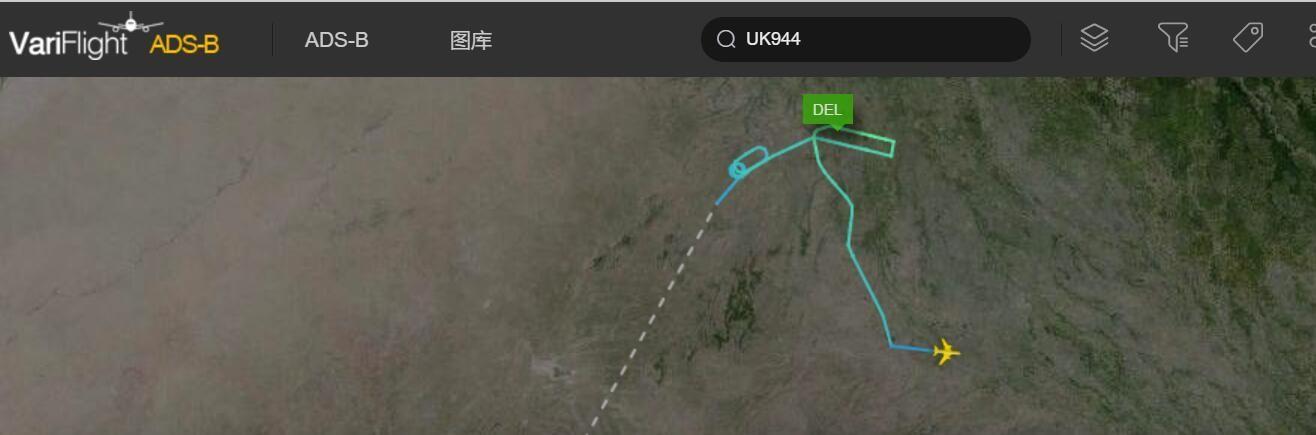 印度Vistara航空一班机成功备降 燃油仅够再飞10分钟