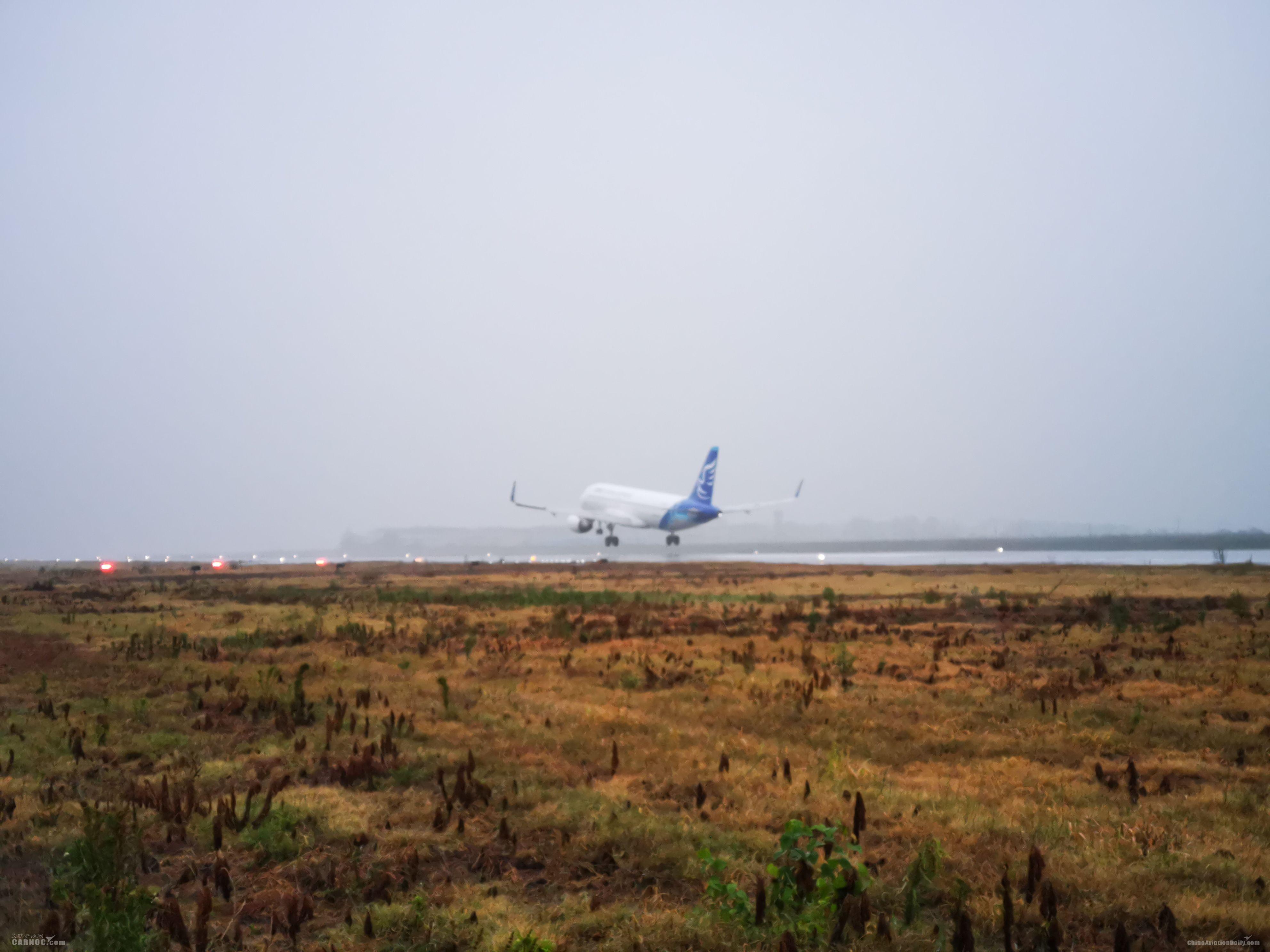 襄阳机场跑道延长200米和新建联络道顺利投用