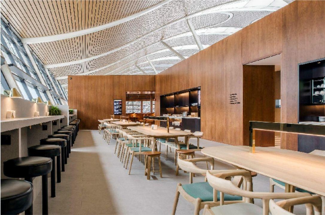 国泰航空浦东机场贵宾室,7月18日以全新面貌重开