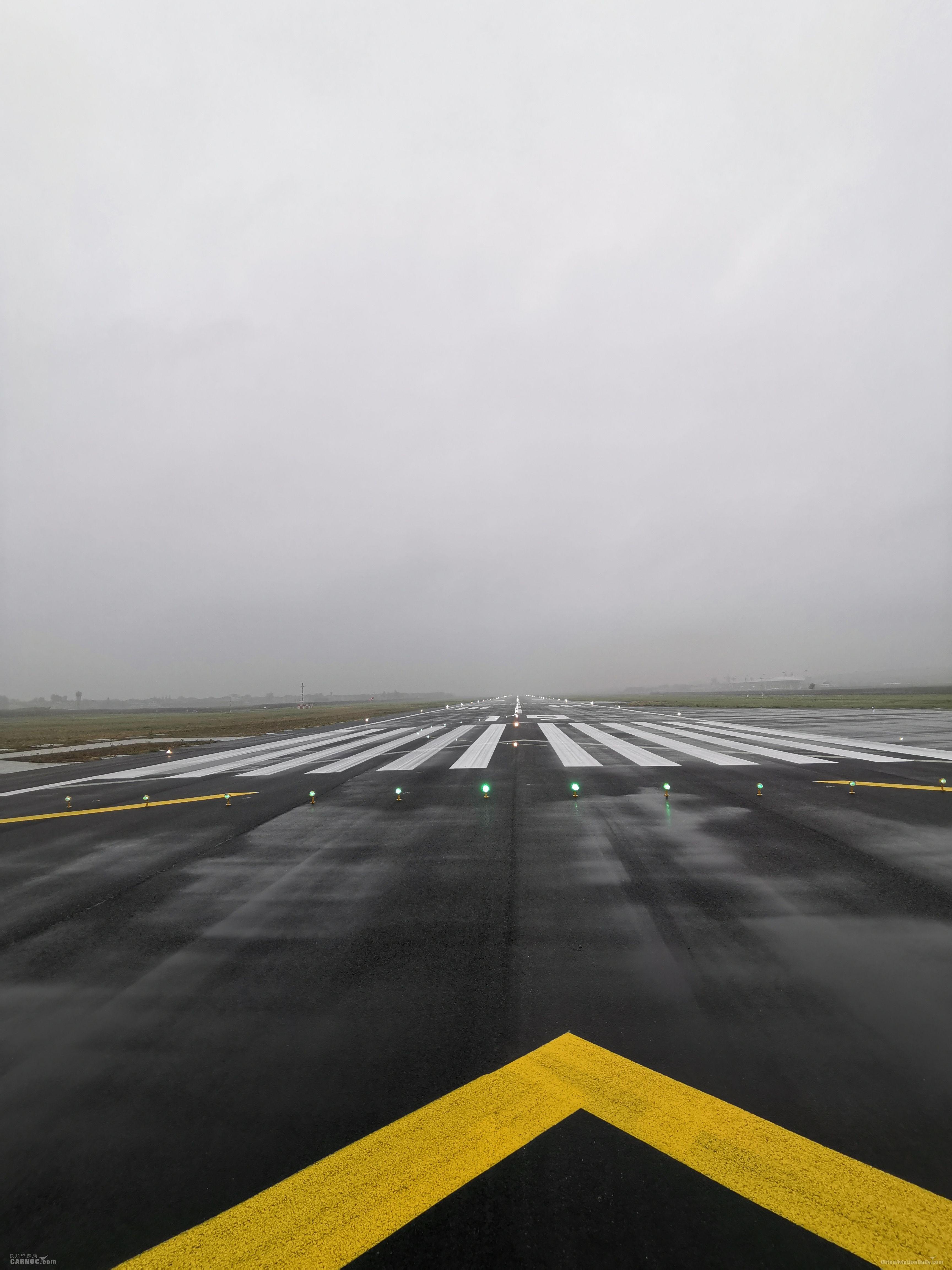 2600米跑道准备待命              襄阳机场供图