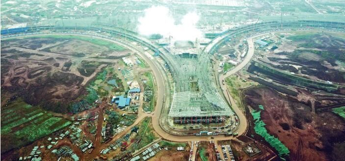 明年建成后年投用,天府国际机场最新进展来了