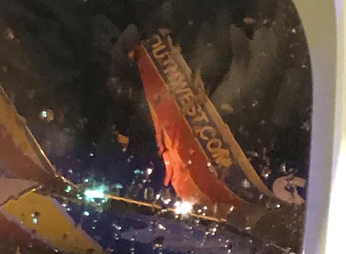 美西南两客机发生擦碰 无人员受伤