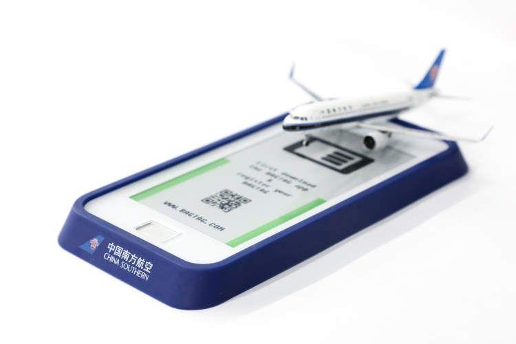 南航率先推出电子行李牌服务