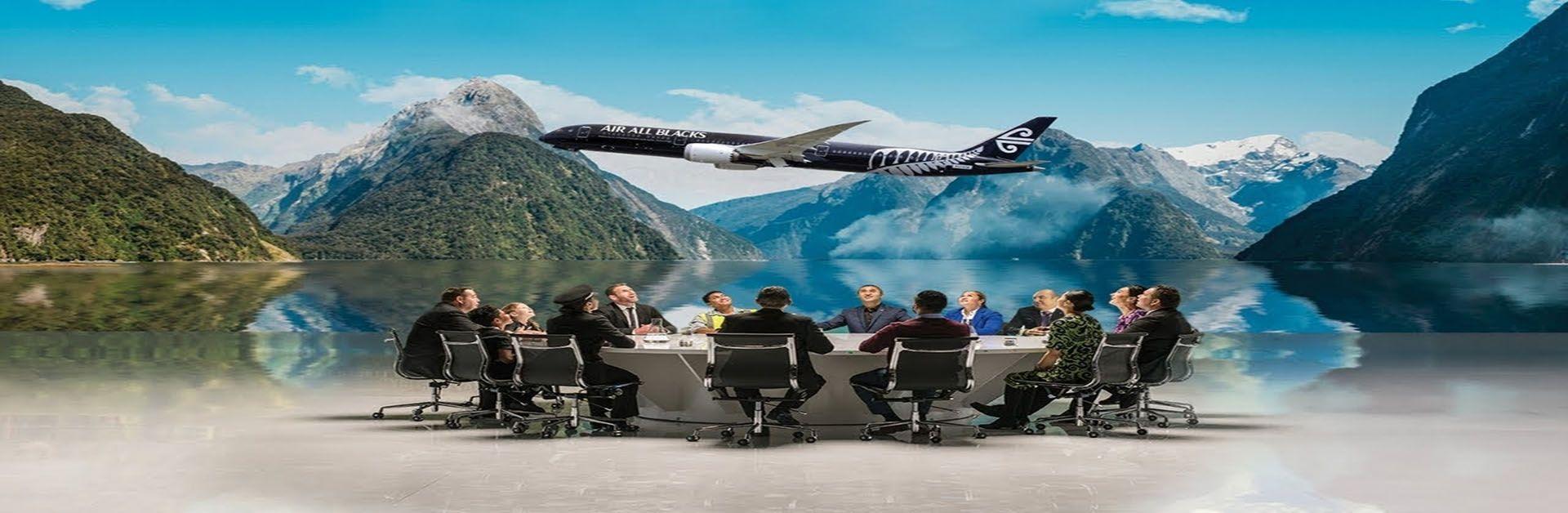 """""""橄""""为球狂,新西兰航空更名""""全黑队航空"""""""